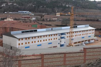 El nuevo módulo de la prisión de Teruel se espera que pueda estar en servicio en verano